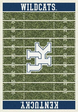 Milliken College Home Field Kentucky Wildcats Rug