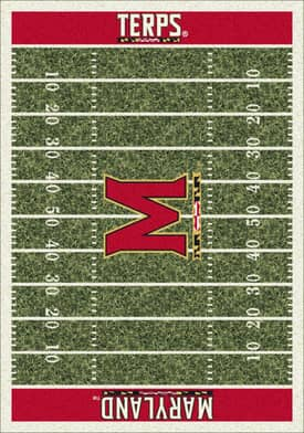Milliken College Home Field Maryland Terps Rug