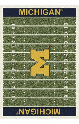 Milliken College Home Field Michigan Rug
