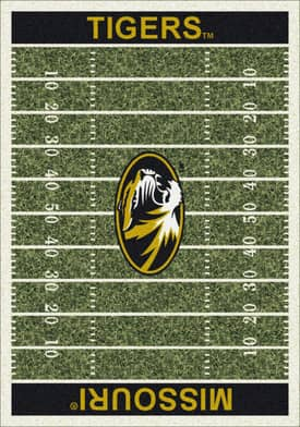 Milliken College Home Field Missouri Tigers Rug
