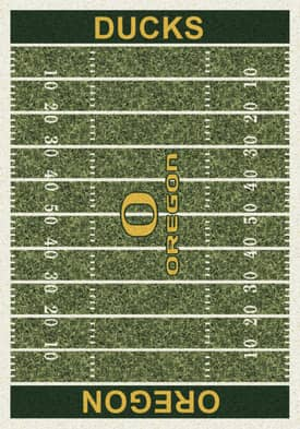Milliken College Home Field Oregon Ducks Rug