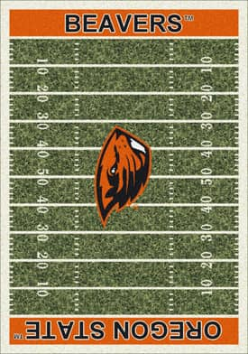 Milliken College Home Field Oregon State Beavers Rug
