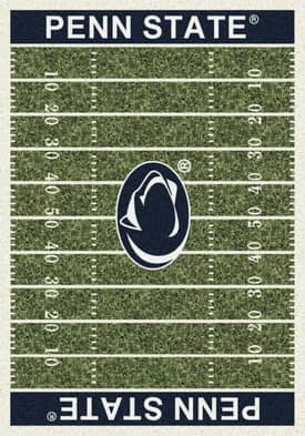 Milliken College Home Field Penn State Nittany Lions Rug