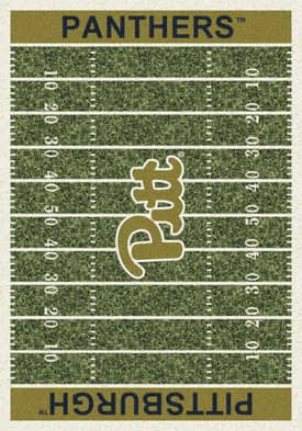 Milliken College Home Field Pittsburgh Panthers Rug