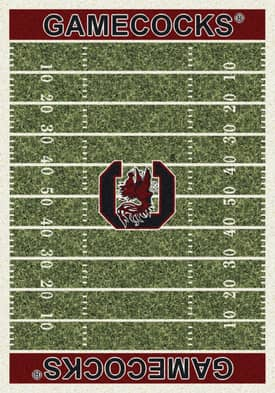 Milliken College Home Field Gamecocks Rug