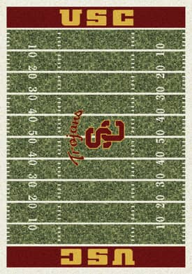 Milliken College Home Field Southern California Trojans Rug