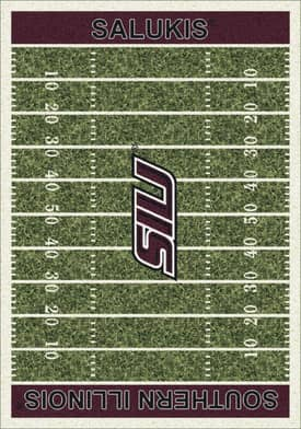 Milliken College Home Field Southern Illinois Salukis Rug