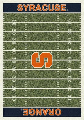 Milliken College Home Field Syracuse Orange Rug