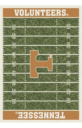 Milliken College Home Field Tennessee Volunteers Rug