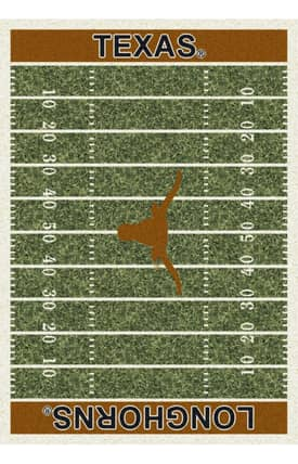 Milliken College Home Field Texas Longhorns Rug