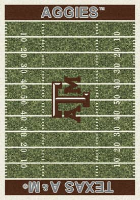 Milliken College Home Field Texas A&M Aggies Rug
