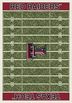 Milliken College Home Field Texas Tech Red Raiders Rug