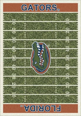 Milliken College Home Field Florida Gators Rug