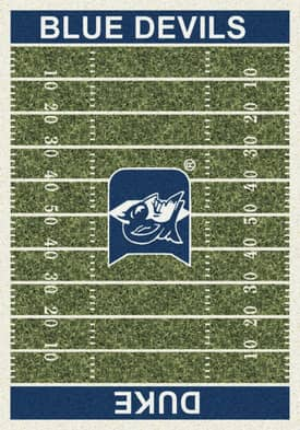 Milliken College Home Field Duke Blue Devils Rug