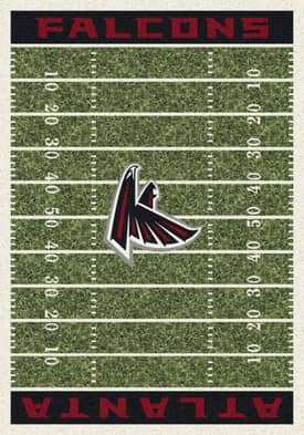 Milliken NFL Home Field Atlanta Falcons Rug
