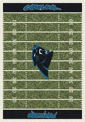 Milliken NFL Home Field Carolina Panthers Rug