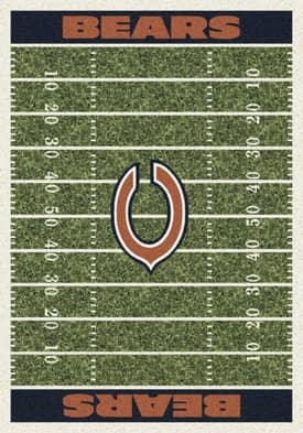 Milliken NFL Home Field Chicago Bears Rug