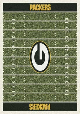 Milliken NFL Home Field Green Bay Packers Rug