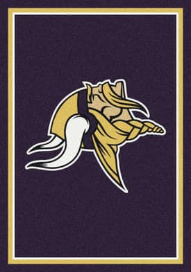 Milliken NFL Team Spirit Minnesota Vikings Rug