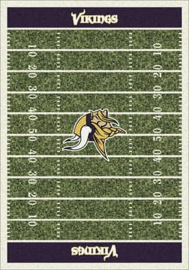 Milliken NFL Home Field Minnesota Vikings Rug