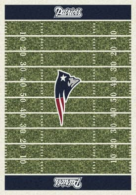 Milliken NFL Home Field New England Patriots Rug