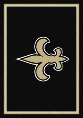 Milliken NFL Team Spirit New Orleans Saints Rug