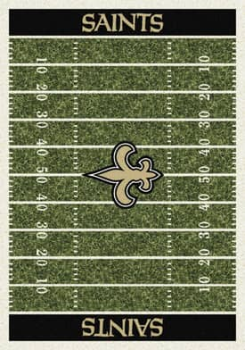 Milliken NFL Home Field New Orleans Saints Rug
