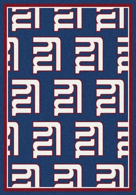 Milliken NFL Team Repeat New York Giants Rug