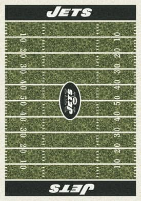 Milliken NFL Home Field New York Jets Rug