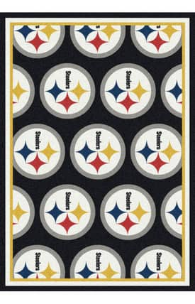 Milliken NFL Team Repeat Pittsburgh Steelers Rug