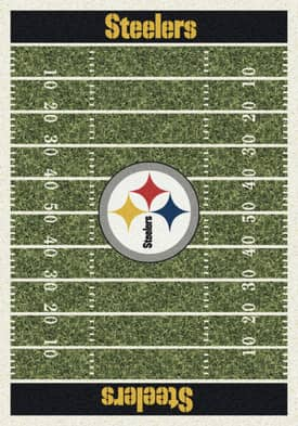 Milliken NFL Home Field Pittsburgh Steelers Rug