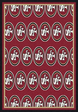 Milliken NFL Team Repeat San Francisco 49ers Rug