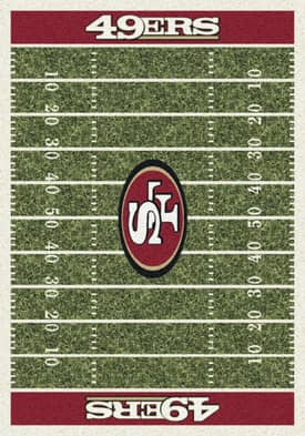 Milliken NFL Home Field San Francisco 49ers Rug