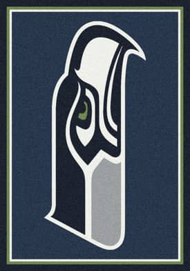 Milliken NFL Team Spirit Seattle Seahawks Rug