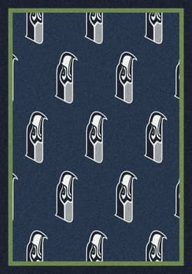 Milliken NFL Team Repeat Seattle Seahawks Rug