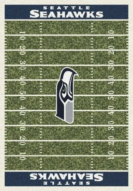 Milliken NFL Home Field Seattle Seahawks Rug