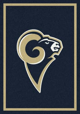 Milliken NFL Team Spirit Los Angeles Rams Rug