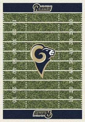 Milliken NFL Home Field Los Angeles Rams Rug