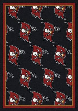 Milliken NFL Team Repeat Tampa Bay Buccaneers Rug