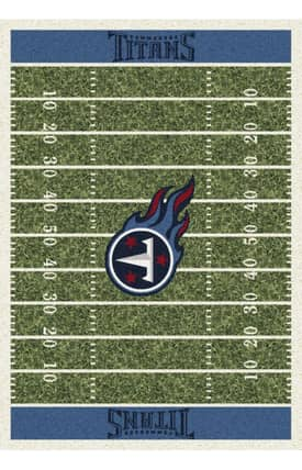Milliken NFL Home Field Tennessee Titans Rug