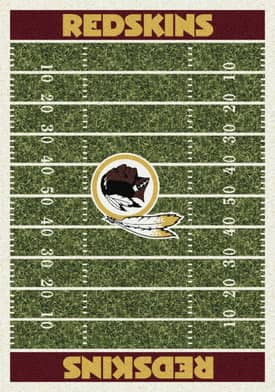 Milliken NFL Home Field Washington Redskins Rug