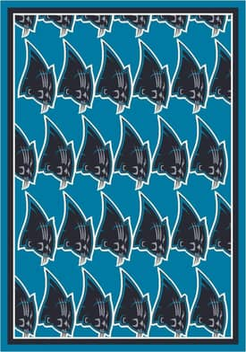 Milliken NFL Home Team Carolina Panthers Rug