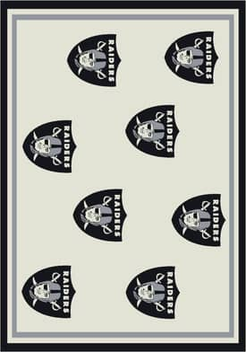 Milliken NFL Home Team Raiders Rug