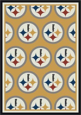 Milliken NFL Home Team Pittsburgh Steelers Rug