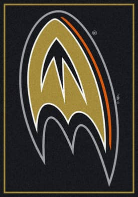 Milliken NHL Team Spirit Anaheim Ducks Rug