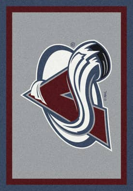 Milliken NHL Team Spirit Colorado Avalanche Rug