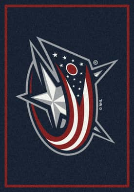 Milliken NHL Team Spirit Columbus Blue Jackets Rug