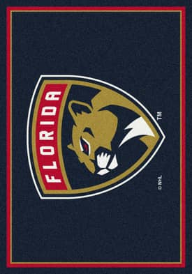 Milliken NHL Team Spirit Florida Panthers Rug