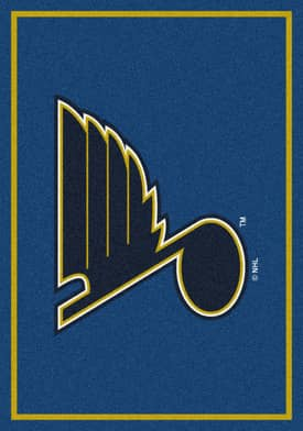 Milliken NHL Team Spirit St. Louis Blues Rug