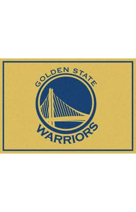 Milliken NBA Spirit Golden State Warriors Rug